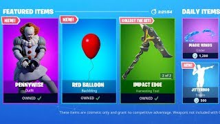 New PENNYWISE Skins Coming To Fortnite Soon!? (Season X)