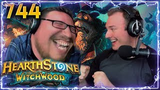 CRAZY WITCHWOOD CARDS!! | Hearthstone Daily Moments Ep. 744