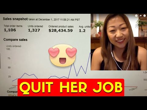 She Makes $29,000 Per Month on Amazon and QUIT Her Job
