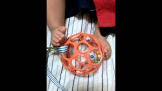 赤ちゃんも 2ヶ月 足遊び 永瀬はるか 動画 29
