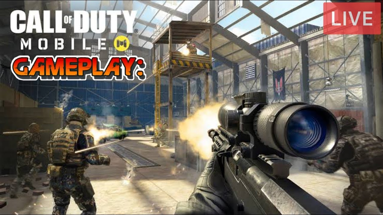 CALL OF DUTY LIVE !!! NOOB GAMEPLAY