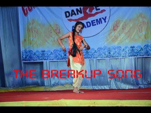 Dance on The Breakup Song     Navya    Manish Dance Academy   