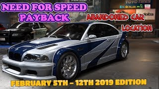 Need For Speed Payback Abandoned Car - Precise Location Guide + Gameplay BMW M3 GTR (No Commentary)