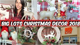 BIG LOTS CHRISTMAS 2018 COME WITH ME AND HAUL