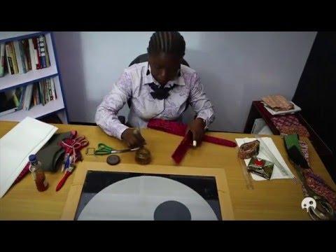 Ankara Crafts - How to Make Belts and Wallets from Ankara Fabric