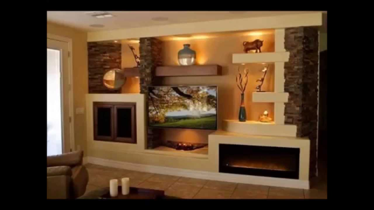 Disenos de muebles para tv de tablaroca for Disenos de muebles para living