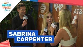 sabrina carpenter shares mindset for almost love debut performance
