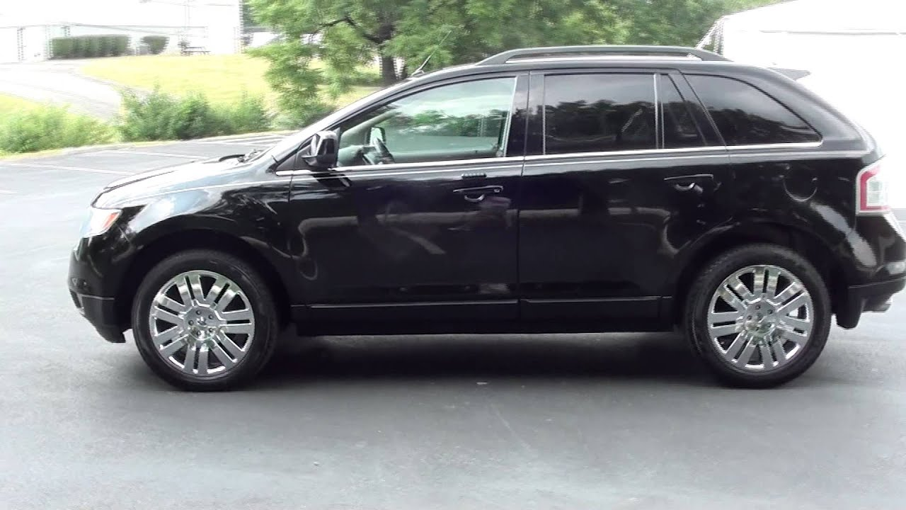 For Sale 2008 Ford Edge Limited 1 Owner Stk P5665