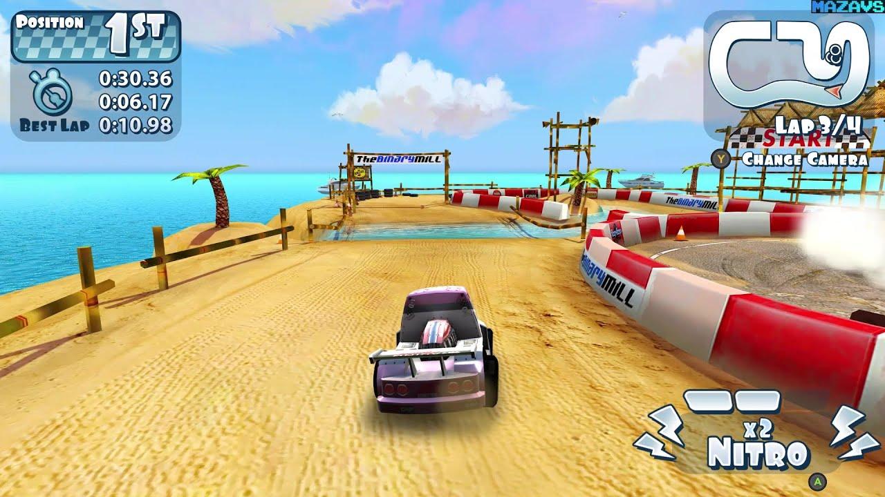 Mini Motor Racing X (Demo) ☆ GamePlay ☆ Ultra Settings - YouTube