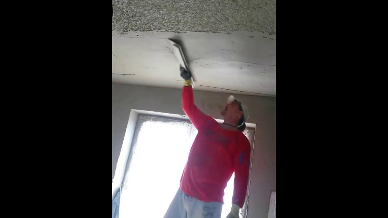 Omítání stropu youtube