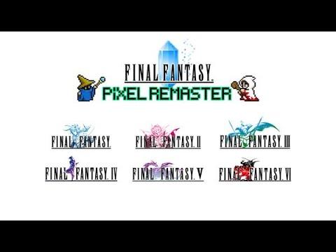 Final Fantasy – Pixel Remaster [Tráiler de anuncio]