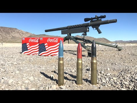 20mm vs coke cans