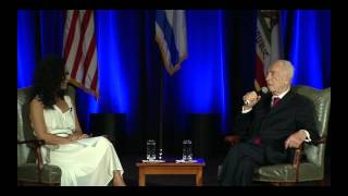 Shimon Peres in Conversation with Dr. Sharon Nazarian