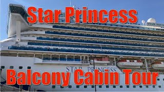 Star Princess Balcony Cabin L254 Tour