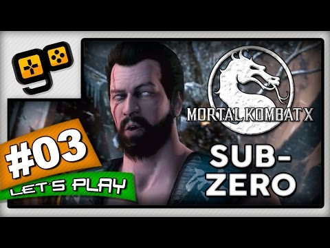 Let's Play:Mortal Kombat X - Parte 3 - Sub-Zero
