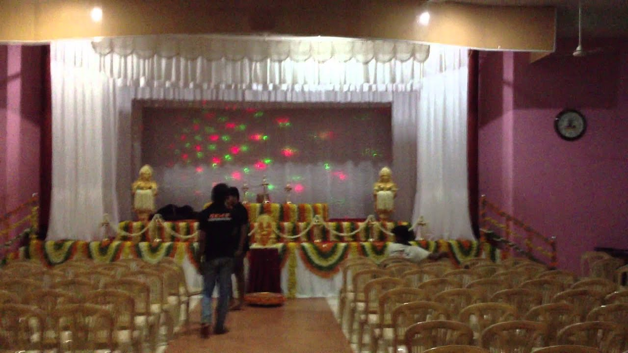 G e m s event organizer 39 s stage decoration youtube for Auditorium stage decoration