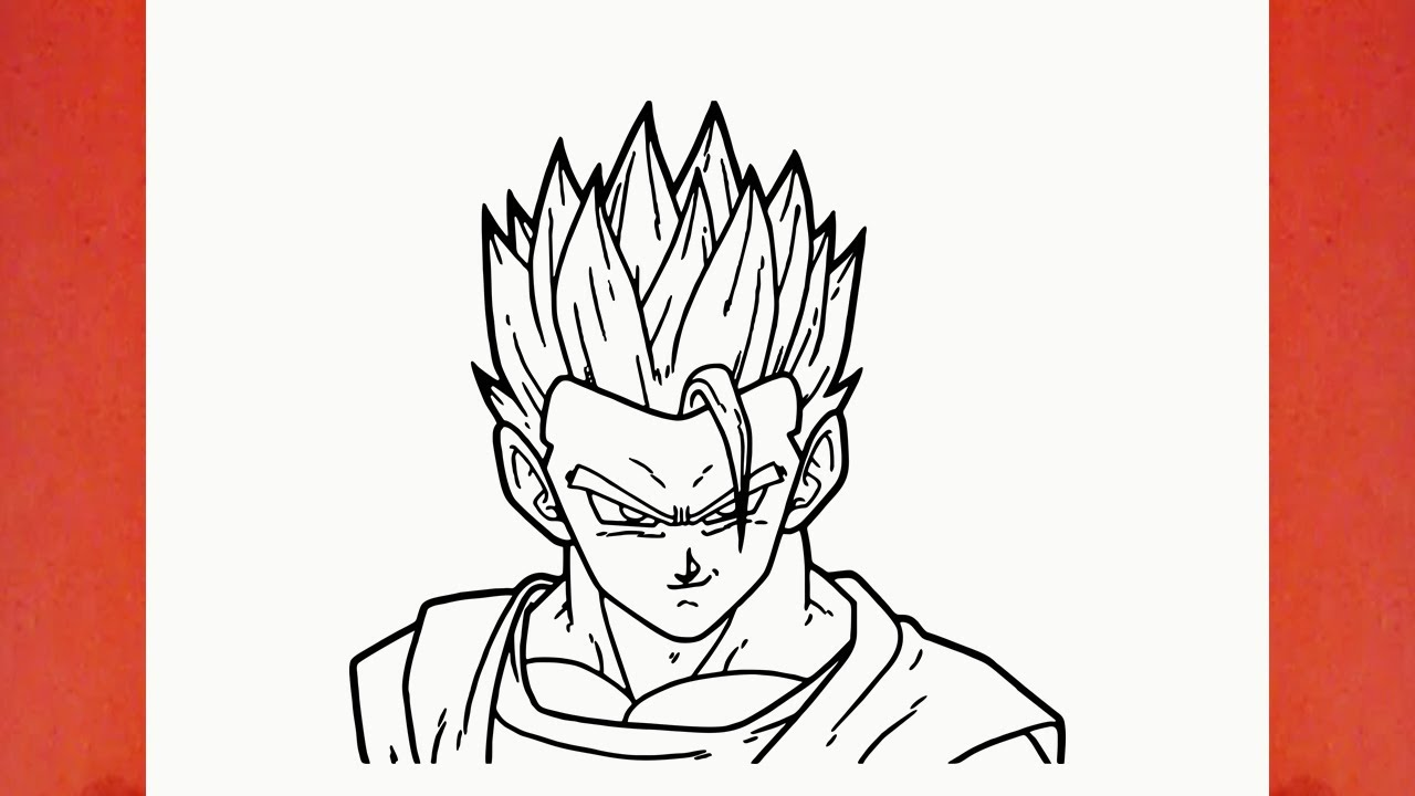 Como Desenhar O Gohan De Dragon Ball Z Youtube