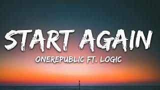 Onerepublic - Start Again S Ft. Logic