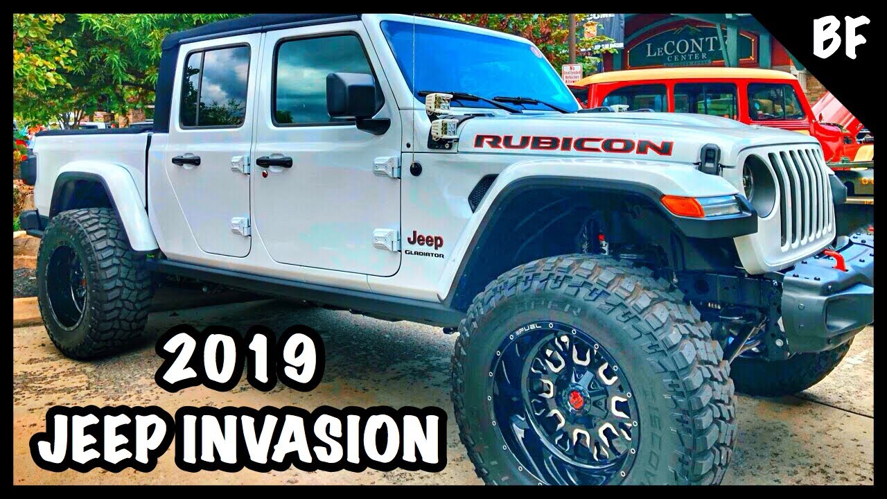 Best 2019 Great Smoky Mountain Jeep Invasion Youtube