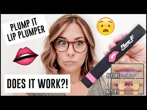 Plump It Lip Plumper REVIEW - Does It Really Work? | How To Get Big Lips Naturally