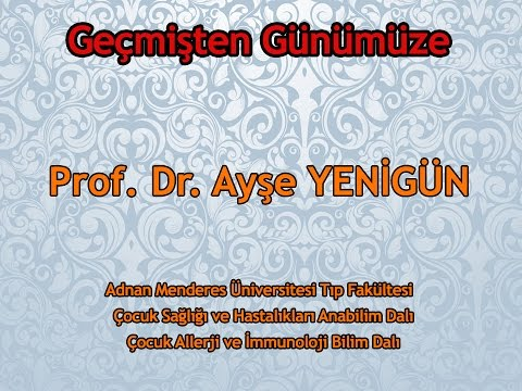 Prof.Dr.Ayşe YENİGÜN