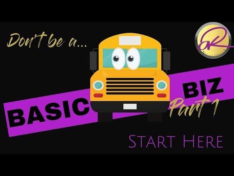 Biz Basics - The ACTUAL BUSINESS Plan