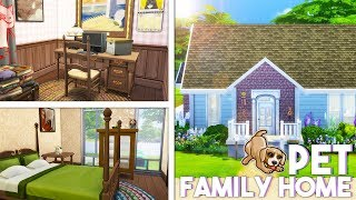 PET FAMILY HOME🐱🐶 // The Sims 4 | Let's Renovate