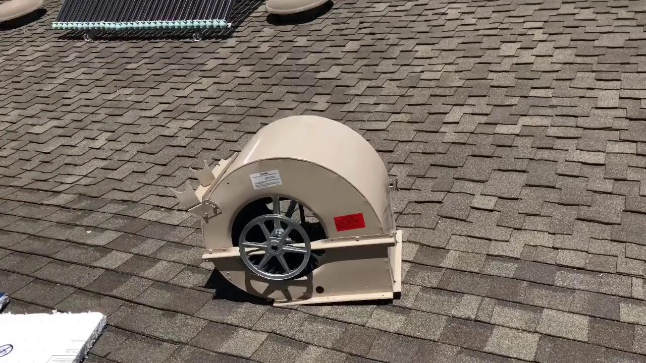 ernest tufft installs master cool evaporative cooler