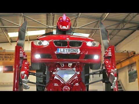 Amazing Real BMW Transformer