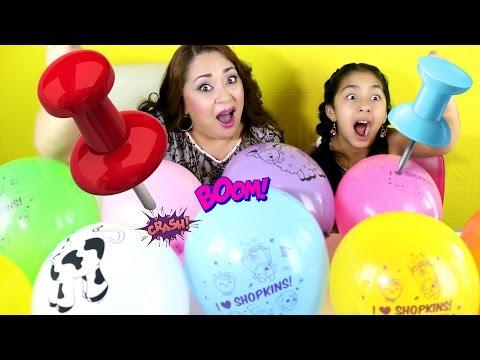 10 Balloons Surprise Explosion Shopkins MLP The Grossery Gang|B2cutecupcakes