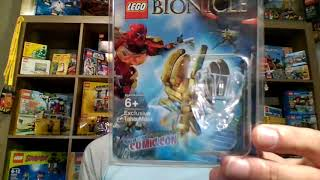 Brick Lifestyle With Rare 2012 Tahu Mask VIP Lego Bionicle Event 17/100