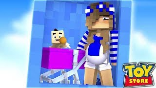 THE TOYSTORE DOLLS HAVE A BABY?! (Minecraft ToyStore).