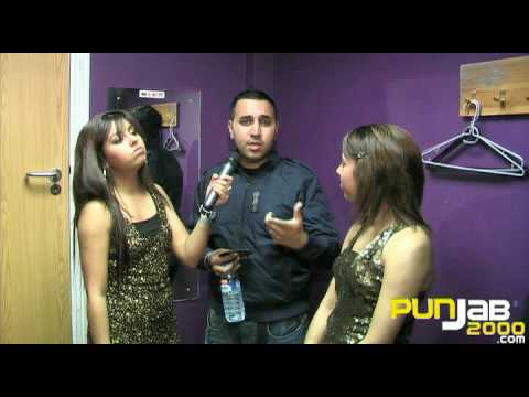ADH interview by the Billan Sisters at Bhangra Fund Raiser 2009