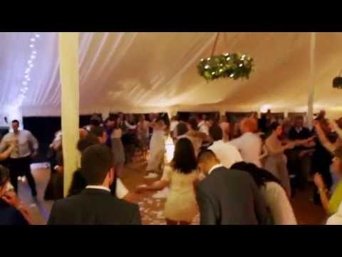 Greek wedding tradition smashing plates dance