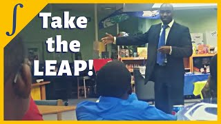 Black Engineer's Motivational Message to Young Elementary School Boys | STEM After School Program