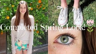 My Completed Spring Look!❀ Thumbnail