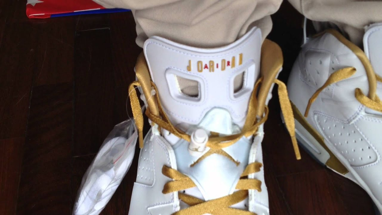 the latest f5c65 9be51 AIR JORDAN GOLDEN MOMENTS PACK 6 7 ON FEET 2012