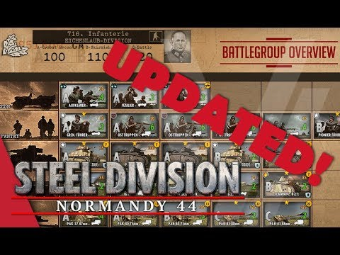 UPDATED! 716th Infantry (Eichenlaub-Division) - Steel Division: Normandy 44 Battlegroup Overview #11