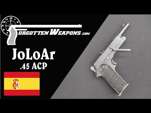 JoLoAr .45 ACP One-Hand-Cocking Pistol