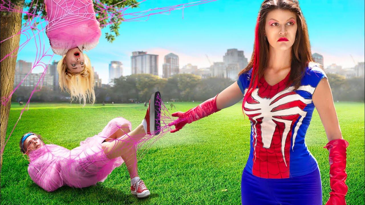 Если бы супергерои были девушками!