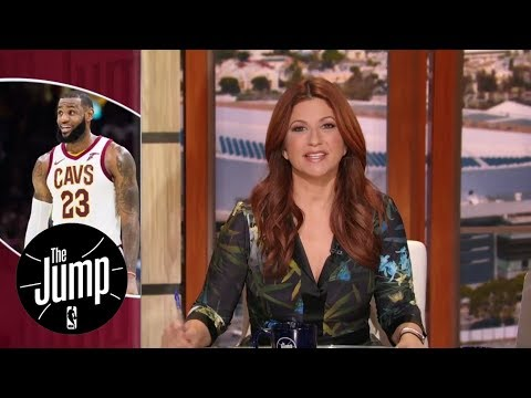 LeBron James changing the 2018 NBA MVP narrative | The Jump | ESPN