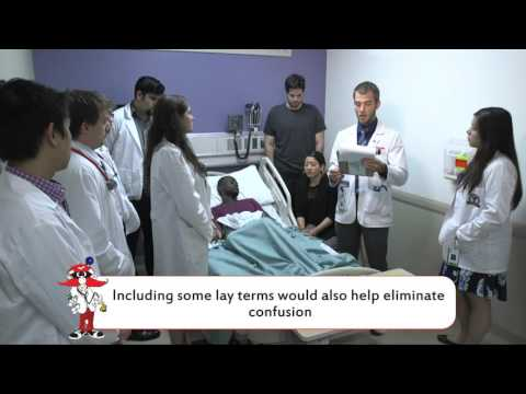 How to Present a Patient: Inpatient Bedside Teaching Rounds (Group 12)