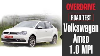 2018 VW Ameo 1.0 | Road Test | OVERDRIVE