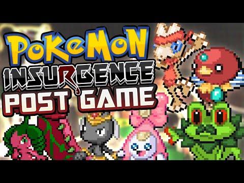 HOLON REGION / Pokémon Insurgence Post Game Stream #2