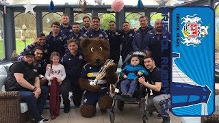 Players Visit Childrens Hospice South West