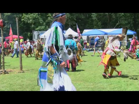 Inter-tribal Native American Pow Wow Underway