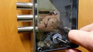 видео Врезной сувальдный замок ЗВ8 190.0.0