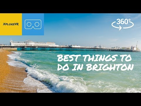 Best Things To Do In Brighton | 360 Video