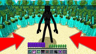ENDERMAN MUTANT VS 1000000 ZOMBIE IN MINECRAFT! ENDERMAN LIFE 1 MINECRAFT BATTLE MOVIE ANIMATION!