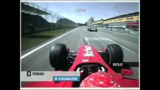 Michael Schumacher onboard - 2001 San Marino Grand Prix